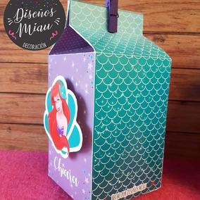 08f20145b Personajes De La Sirenita - Souvenirs para Cumpleaños Infantiles Bolsitas  en Mercado Libre Argentina