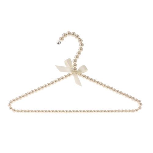 10pcs 40cm perla con cuentas percha abrigo pantalones vestid