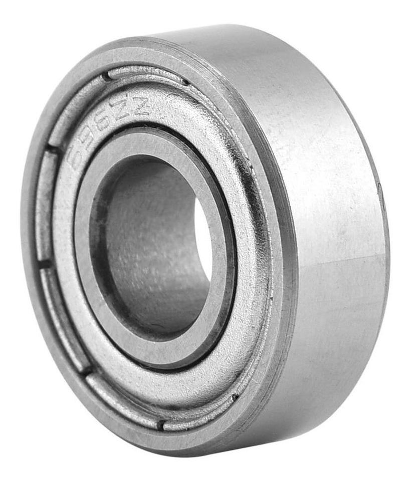 15 5 mm para proyectos de eje//varilla de peque/ño pasatiempo de 6 mm 10 piezas 696ZZ Rodamientos de bolas de acero en miniatura con doble blindaje 6 Rodamiento