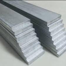 10pçs barra chata alumínio 7/8x1/8x3mts (22,22x3,17x3000mm)