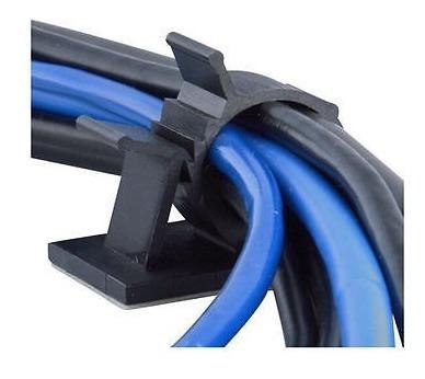 10pcs cable drop escritorio ordenado organizador alambre cab