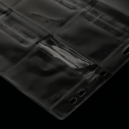 10pcs limpar 12 bolsos coin capsules album pages