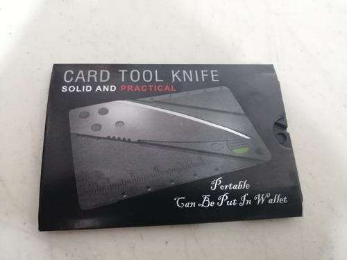 10pz cardsharp portatil tipo tarjeta de credito plegable