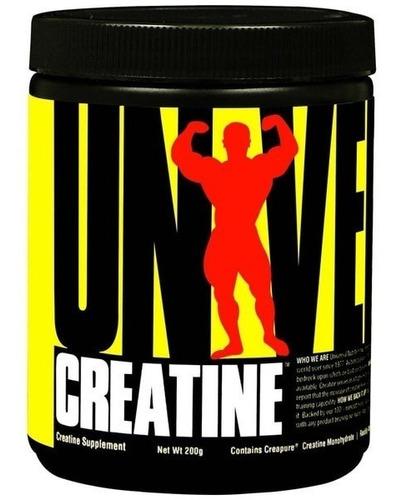 10un creatina universal nutrition 200g-envio em 24 horas