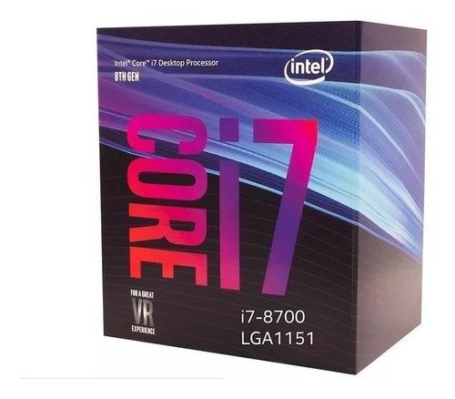 10un pc completo core i7 8700 8gb ssd 240gb monitor led 19