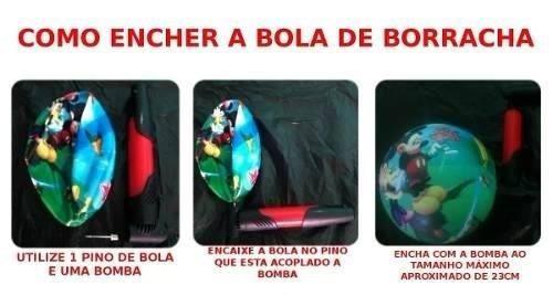 10unid bola de vinil leite borracha melancia 23cm #novas