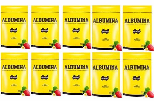 10x albumina refil 500g naturovos.