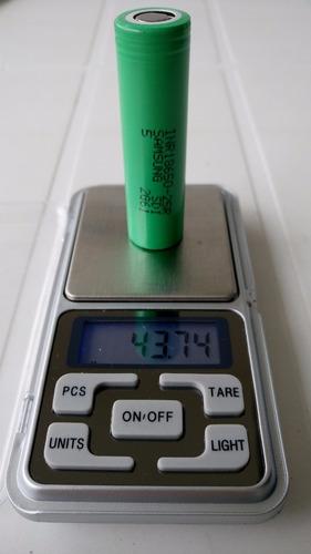 10x bateria samsung inr18650 25r 2500mah 20a 3.7v original!