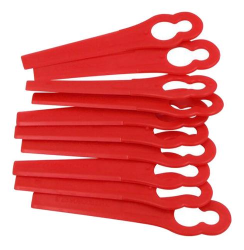 10x cortador de grama ferramentas de jardim plástico para pa