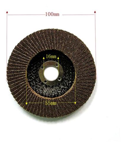 10x flap disc grinding wheel zirconia amoladora angular