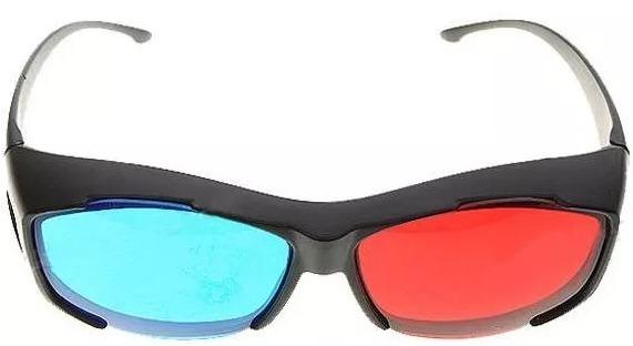 c1848ca99e8c2 10x Óculos 3d Ultra Resistente Ótima Qualidade Red Cyan - R  79