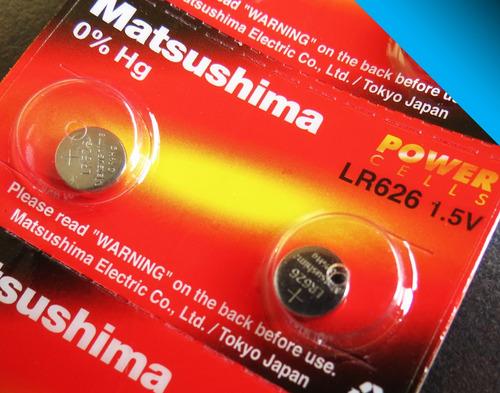 10x pila lr626w japonesa lr626 - ag4 377 - bigbull