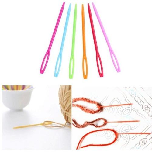11 agujas/palillos circular acero inoxidable + regalo. promo