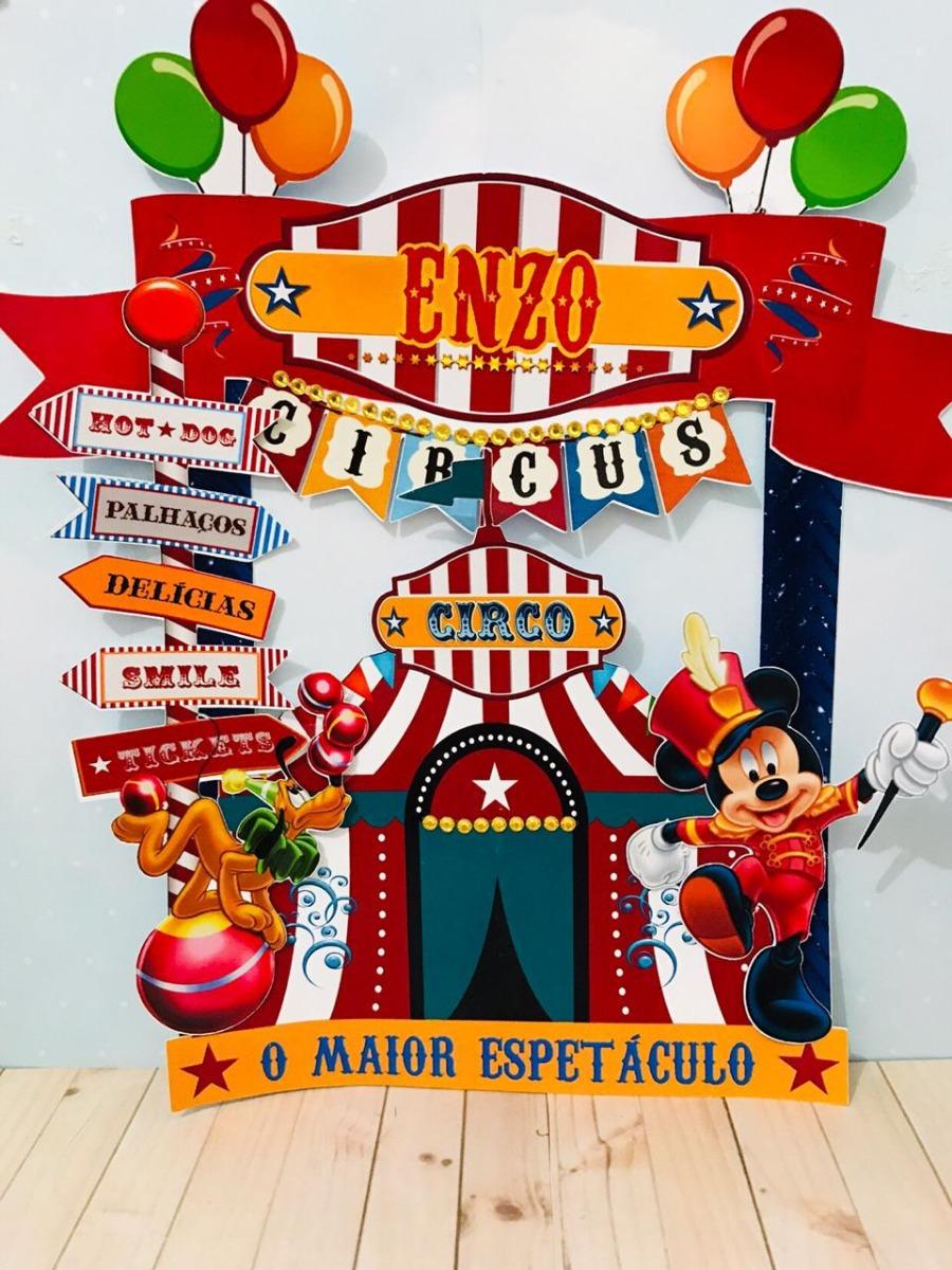 11 Arquivos De Corte Circo Mickey Novo Envio Imediato R 7 90 Em
