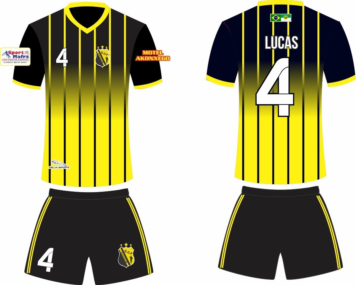 f203bbfae 11 camisas futebol personalizada. Carregando zoom.