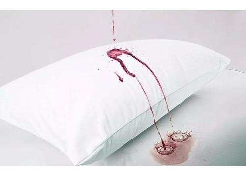 11 capas de travesseiro tam 50cm x 70cm c/ zíper impermeável