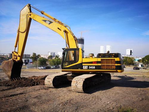 11) excavadora caterpillar 345bl 1999