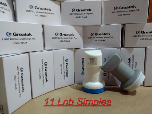 11 lnb simples universal full hd greatek (( cinza ou azul ))