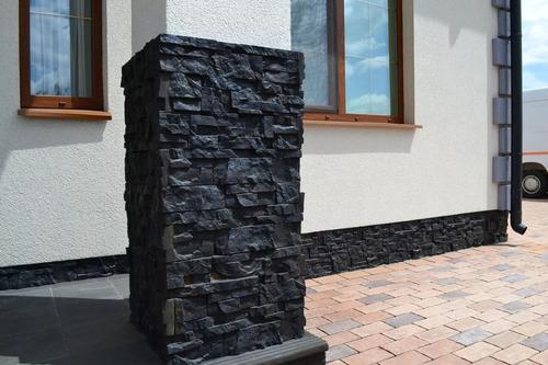 11 moldes pared piedra fachada fachaleta cultivada concreto