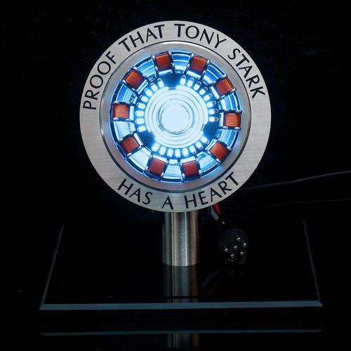 1:1 replica diy arc reactores modelo kit led pecho luz usb p