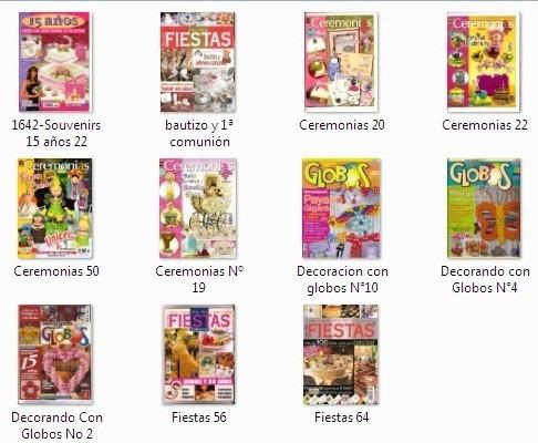 11 revistas globoflexia  (lote 1)