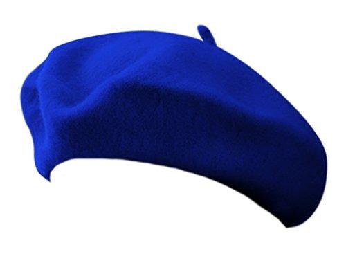 56f7d5a81d9bd 11 Royal Blue Wool Blend Gorra De Boina De Artista Francesa ...