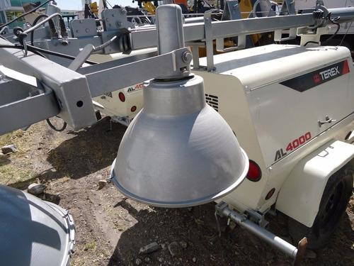 11) torre de luz terex al4000 c/generador de 6 kw 2008