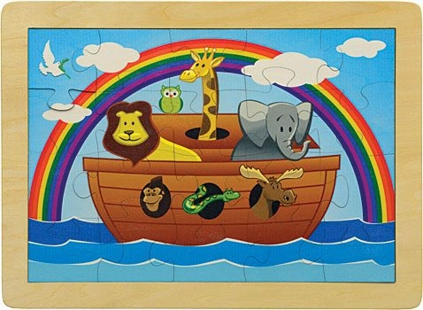 11 x 15 noahs ark puzzle hecho en estados unidos
