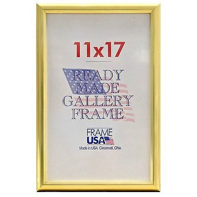 11 X 17 Poster Deluxe Marco W/plexi-glass - 3... (gold) - $ 23.990 ...
