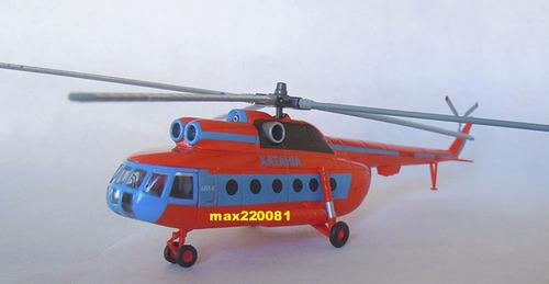 1/100 helicoptero mi 8 mil armado tanque avion sukhoi mirage