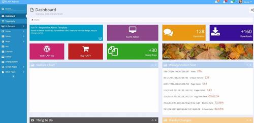 1100 modelos de sites prontos responsivos script html5 php