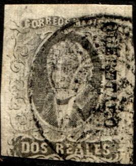 1106 clásico ne gris scott #8 querétaro 2 r usado 1861