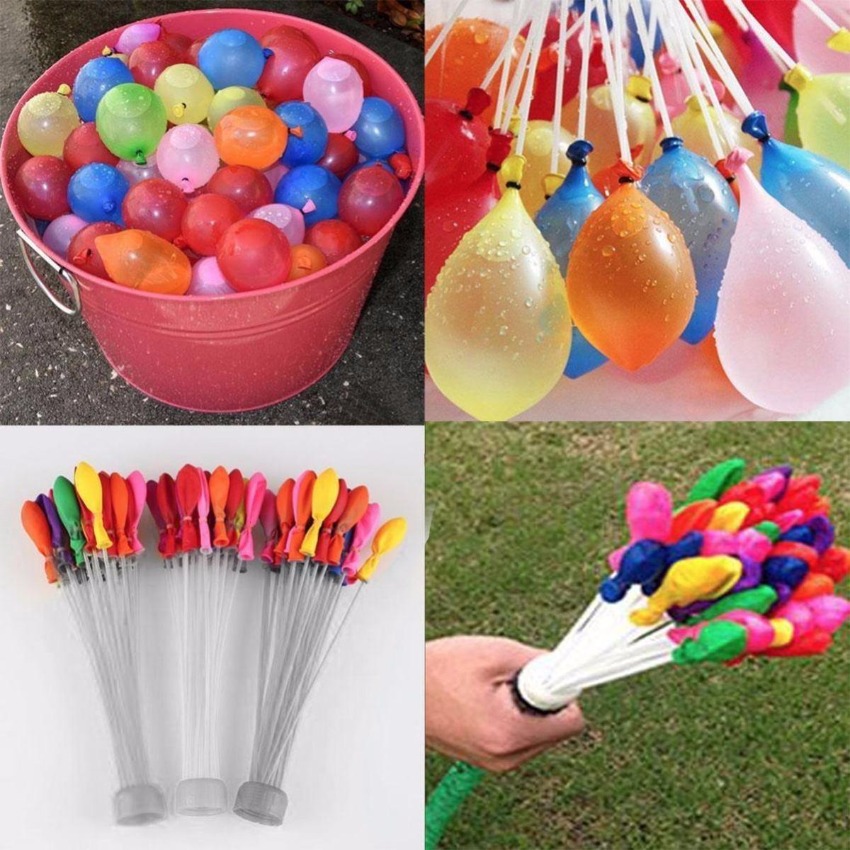 111 globos de agua en 60 seg magicos bunch o ballons - Llenar globos con helio ...
