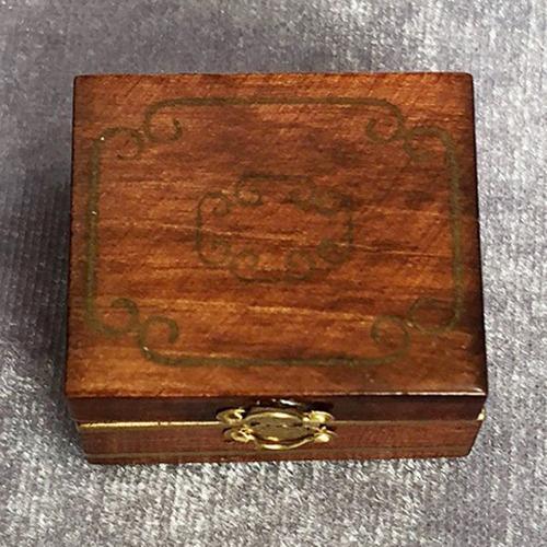 Pantalla Joyero Escala 1:12 Casa De Muñecas Miniatura Accesorios