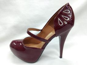 7cceb8322c Sapato Meia Pata Vizzano - Sapatos Violeta-escuro com o Melhores Preços no Mercado  Livre Brasil