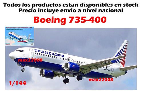 1/144 avion boeing 737 400 peru sukhoi stiker mirage barco