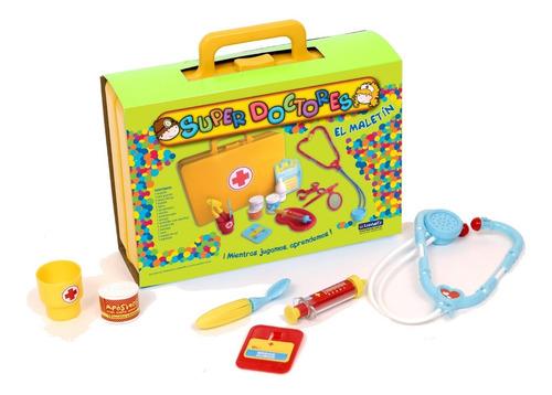 1152 juguete valija maletin super doctores lionels babymovil