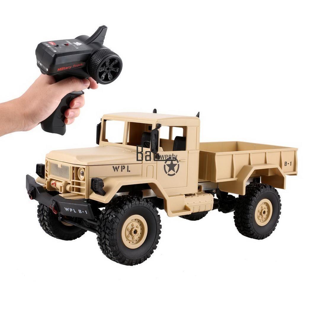 1 16 4wd 2 4g Coche Electrico Rc Militar Carro De Juguete De