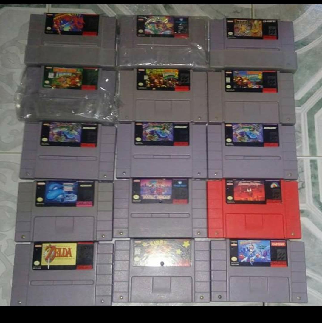 116 De Los Mejores Juegos De Super Nintendo Snes 500 00 En