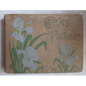 11618 Grande Álbum Francês De Cartões Postais Início Séc Xx