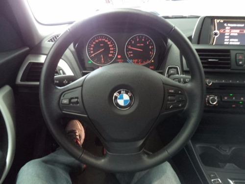 116i 1.6 turbo bmw automático 2015 azul 95.000km série 1 vej
