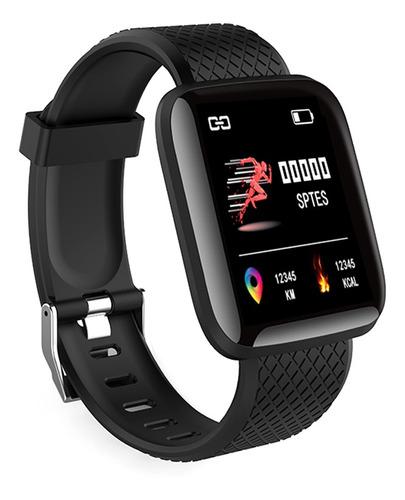 116plus reloj inteligente bt rastreador de ejercicios