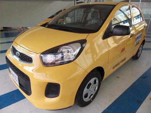 117.000.000 taxi kia pìcanto 2017, entrega inmediata