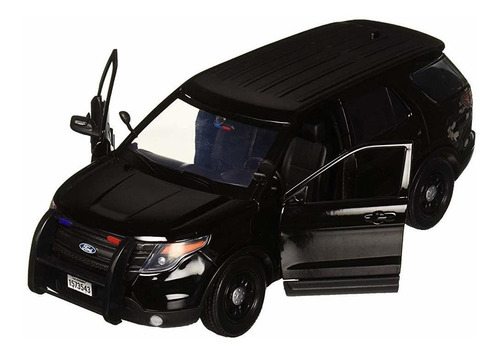 1:18 2015 ford police interceptor utility diecast vehicles.