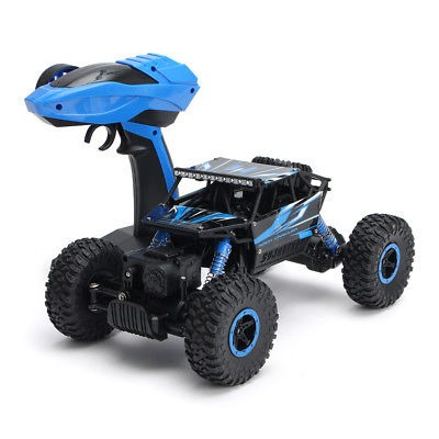 1:18 2.4ghz rc racing coche 4wd monster rock crawler carro
