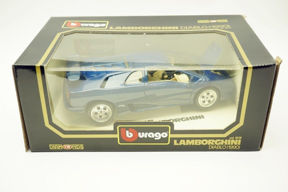 1 18 Bburago Lamborghini Diablo 1990 Burago N Senna F1 Fusca R