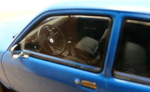 1:18 chevette tubarao 1973 1977 miniatura opel kadett c