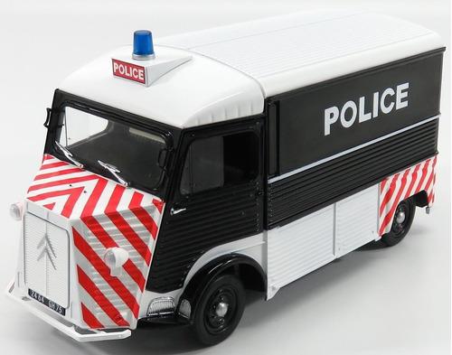 1:18 citroen hy policia paris 1969 solido frete gratis metal