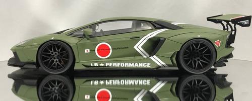 1/18 lamborghini aventador lb performance lp700-4 kyosho gts