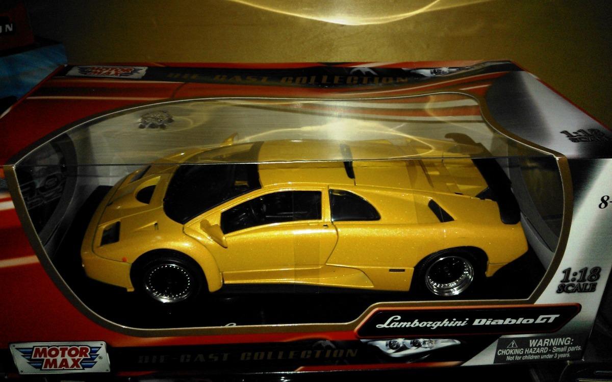 1 18 Lamborghini Diablo Gt Amarillo Motor Max 1 060 00 En